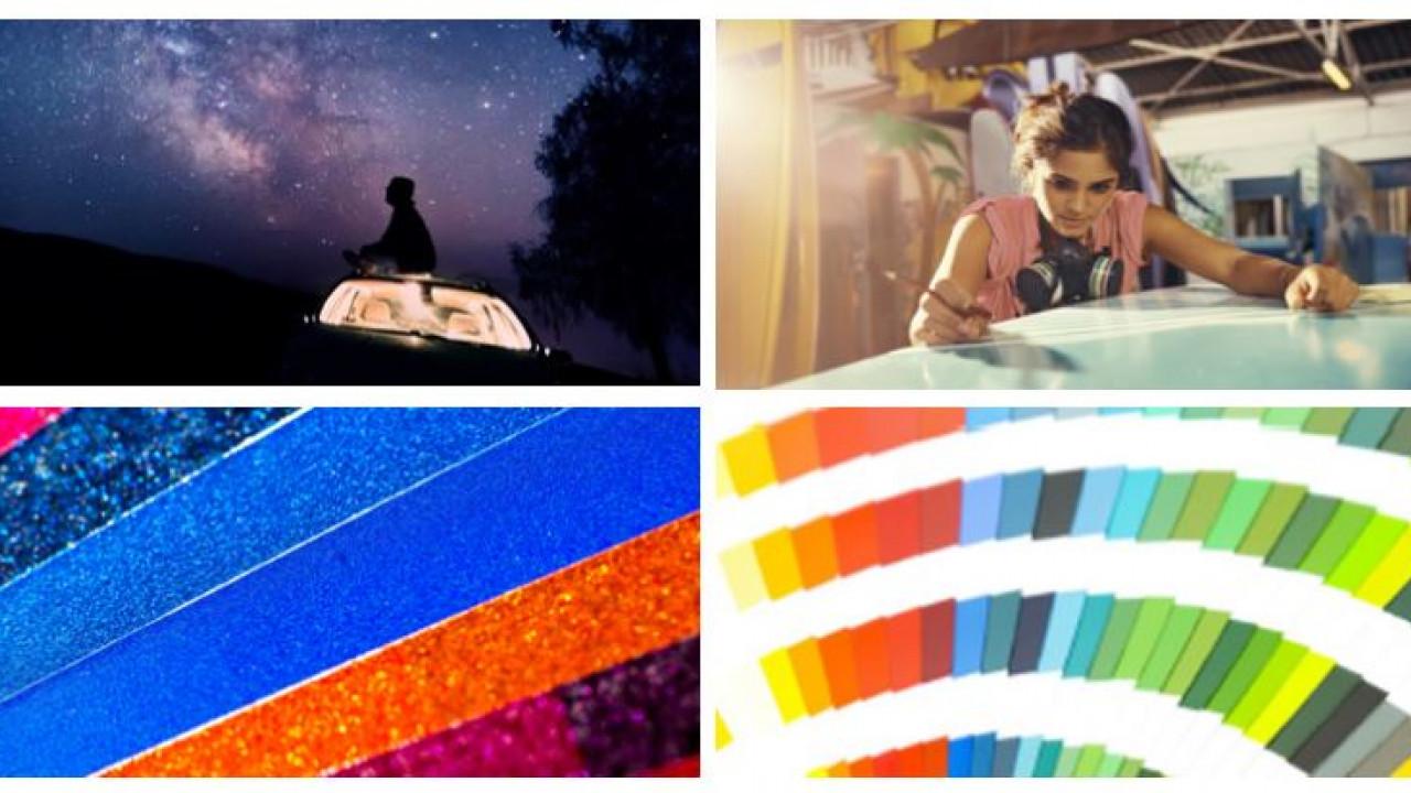 company portfolio collage